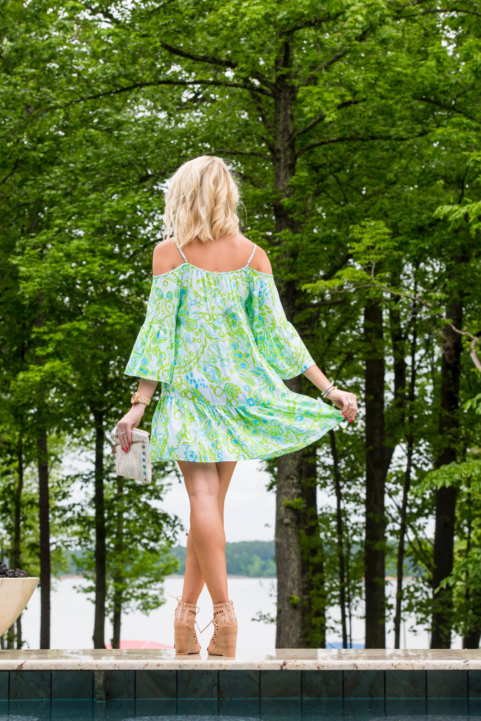 b7b3cf0a3f91a Cold Shoulder Trending with Lilly Pulitzer