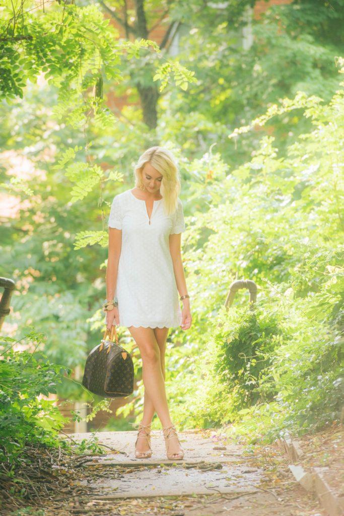 HIHO Rachel Dress White Eyelet