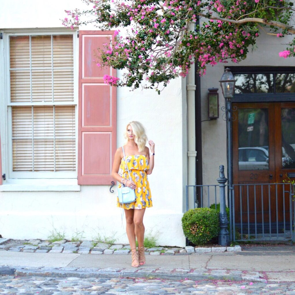 Mink Pink Wildflowers Dress