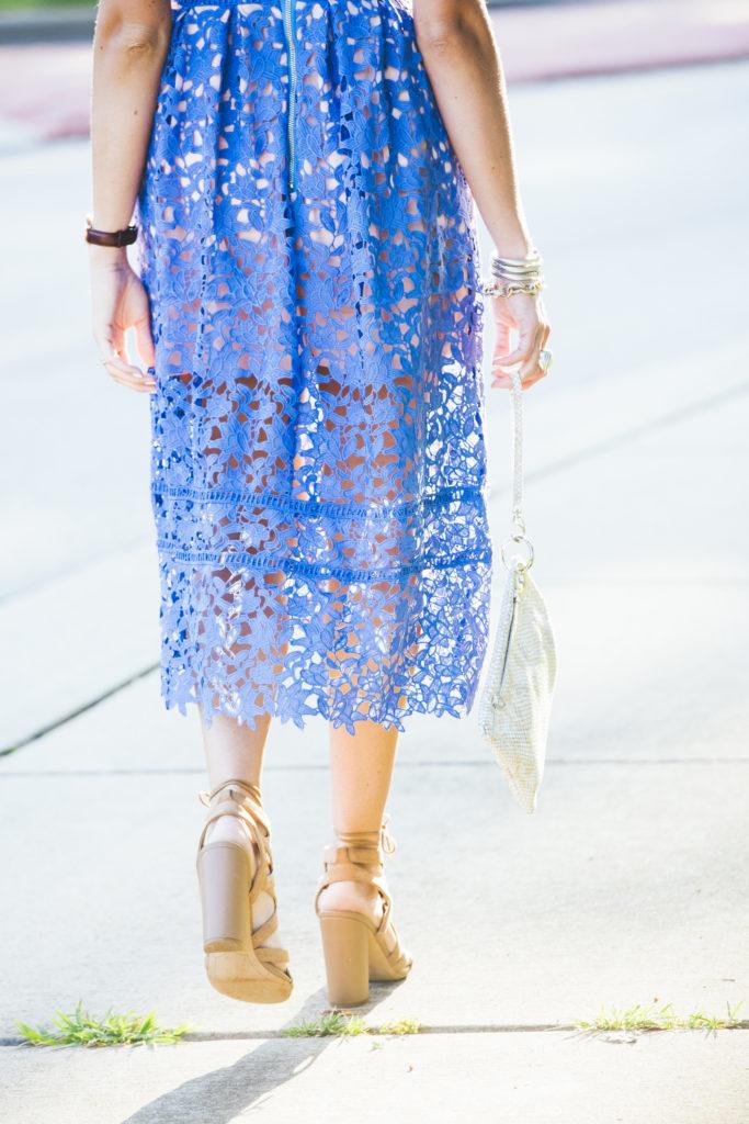 Goodnight Macaroon Lace Dress