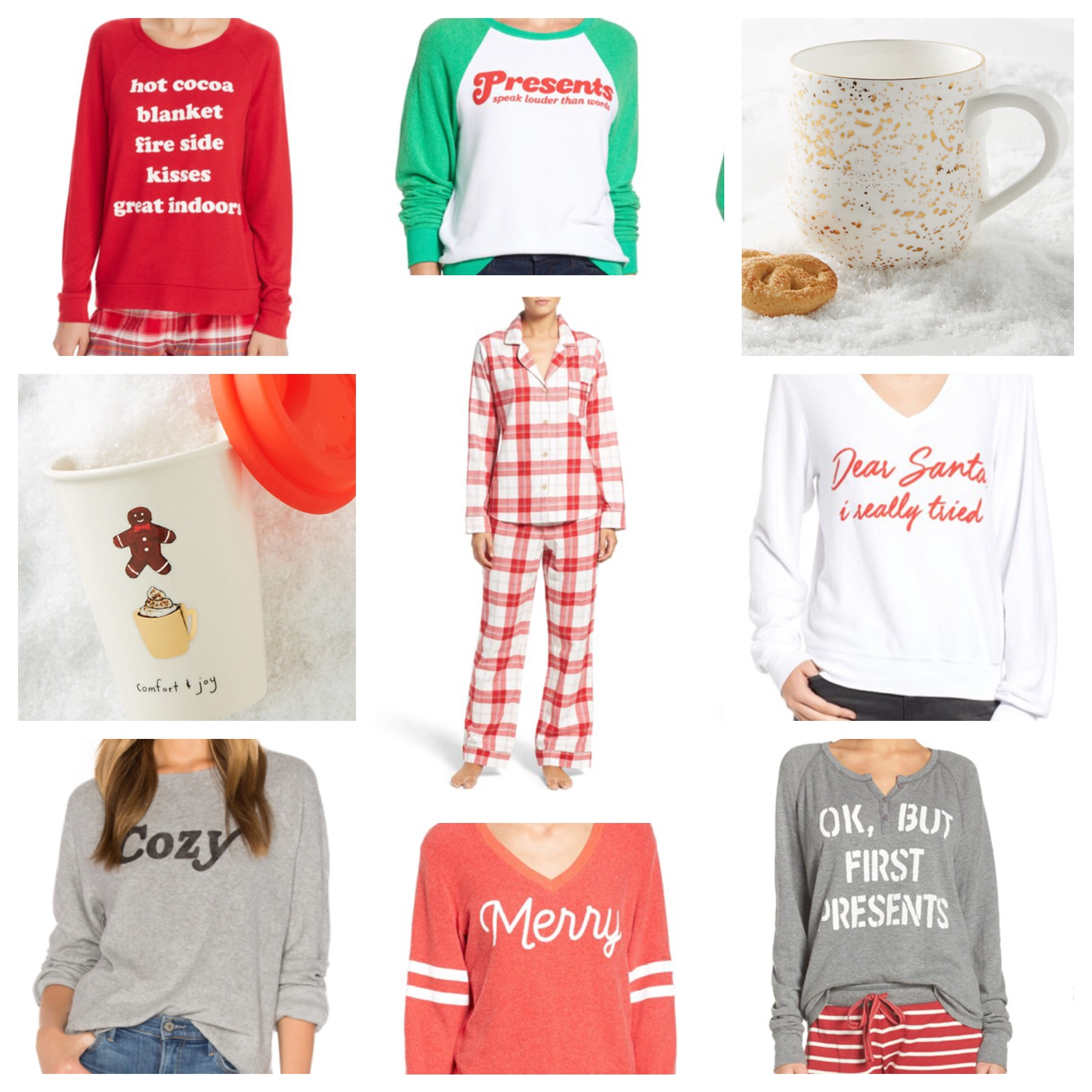 Christmas Pajama Party & Fireside Favorites